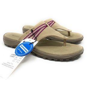 Columbia Women's Omni-grip Comfort Flip-Flop Slide